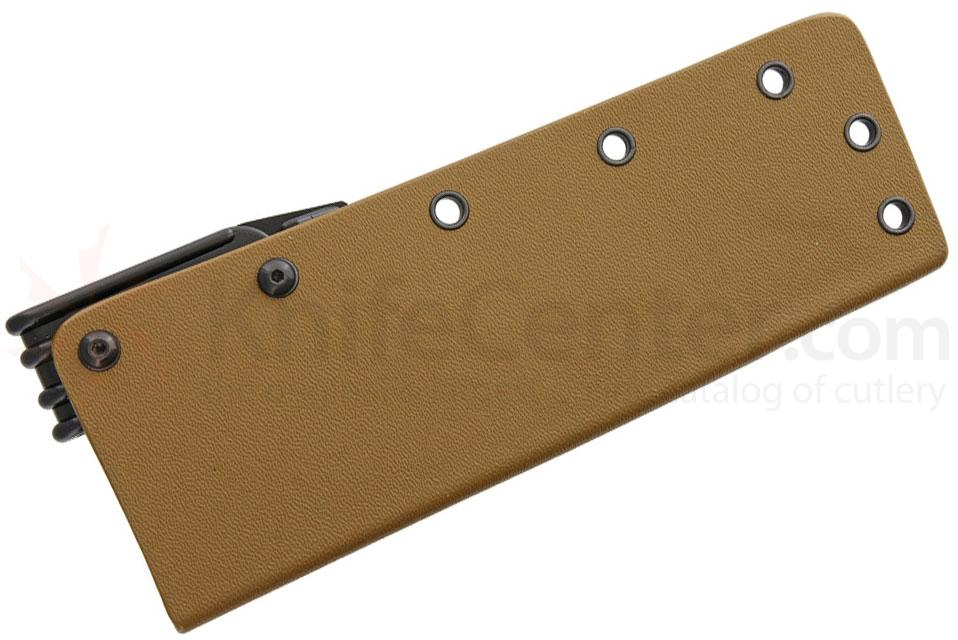 Armory Plastics Do-It-Yourself Tan Kydex Sheath Only, Fits 3-4 inch Blades