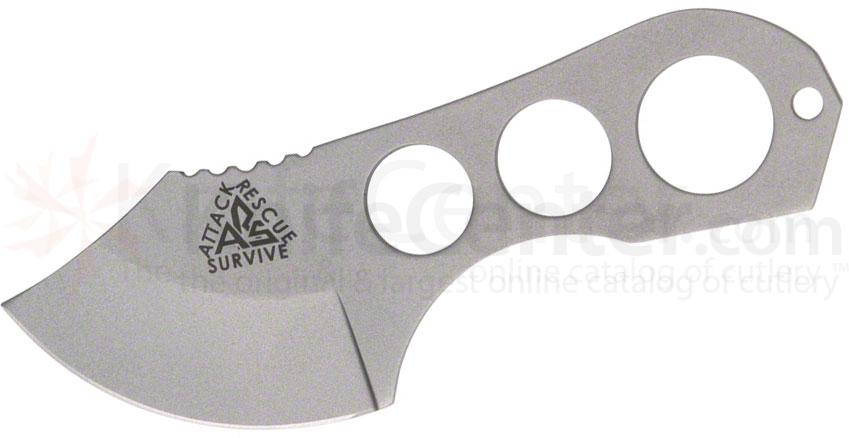 ARS Knives Shanghai Shank Survival Knife 2 inch Bead Blast Blade, Kydex Sheath