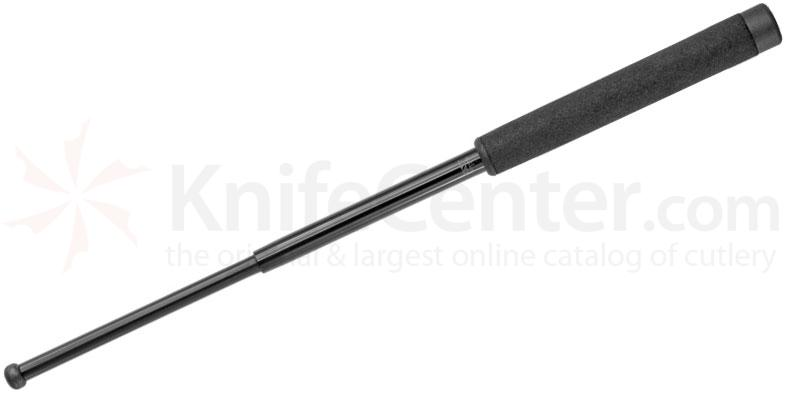 ASP 21 inch Friction Loc Foam Black Chrome Baton F21FB