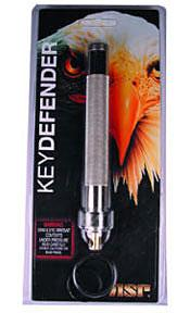 ASP Key Defender (Electroless) 5.5 inch Keyring Baton Pepper Spray