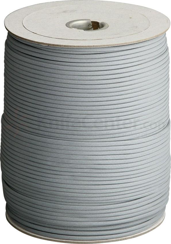 Atwood Rope 550 Paracord, Grey, 1000 Foot Spool