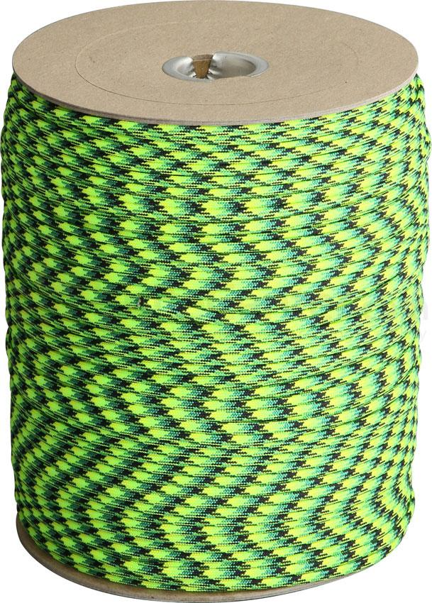 Atwood Rope 550 Paracord, Gecko, 1000 Foot Spool