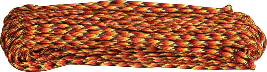 Atwood Rope 550 Paracord, Fireball, 100 Feet