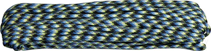 Atwood Rope 550 Paracord, Blue Snake, 100 Feet