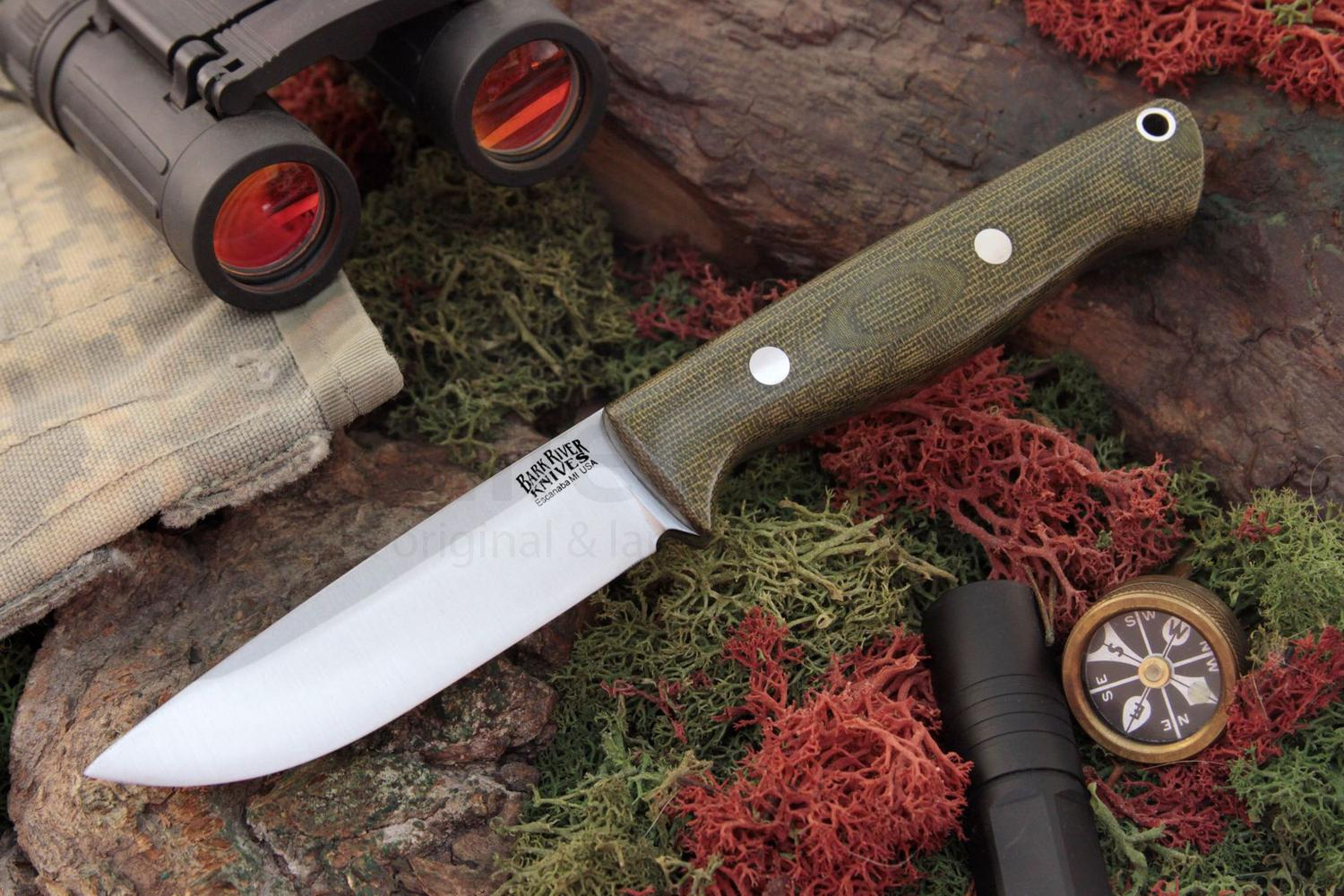 Bark River Knives Gunny Hunter Fixed 3 775 Quot A2 Tool Steel