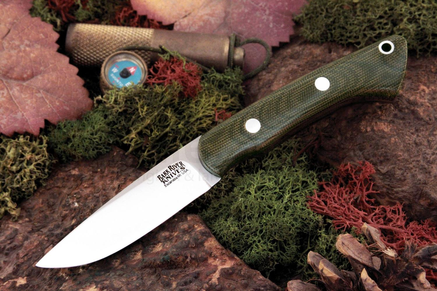 Bark River Knives Featherweight Fox River Fixed 3 25
