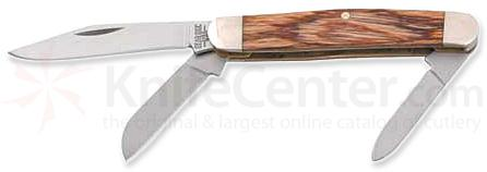 Bear & Son Midsize Stockman Kniv w/ Rosewood Handle - 3.25 inch Closed