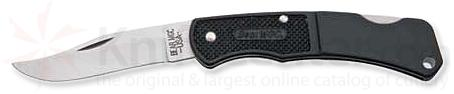 Bear & Son Lockback Folder w/ Black Zytel Handle - 3.75 inch Closed