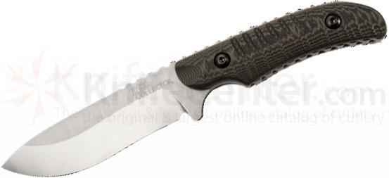 Benchmade Michael Waddell's Bone Collector Hunter 4.1 inch D2 Plain Blade, Contoured G10 Handles