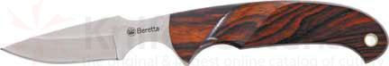 Beretta Ambi Caper 7 inch Overall Cocobolo Wood Handles with Sheath