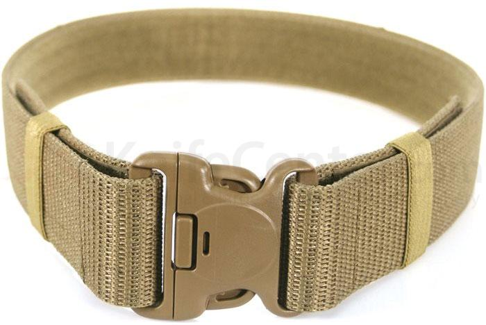 BLACKHAWK! Military Web Belt, Modernized, Fits up to 43 inch, Coyote Tan