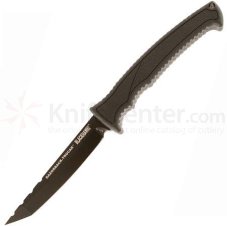 BLACKHAWK! Razorback-Trocar Fixed 3.875 inch Plain Edge Blade