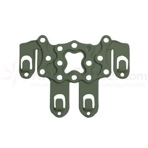 Blackhawk Serpa Strike Platform, Ambi., w/Speed Clips, OD Green