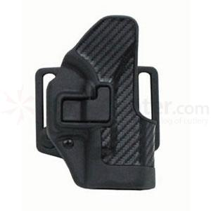 Blackhawk CF Holster w/BL & Paddle, Serpa, RH, Black, Sig 220/226