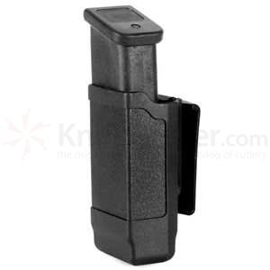 Blackhawk CF Double Row Mag Case, Matte Finish, 9mm..40 Cal. Black