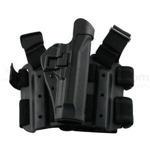 Blackhawk Tactical Serpa Thigh Holster, RH, Black, Ber 92/96