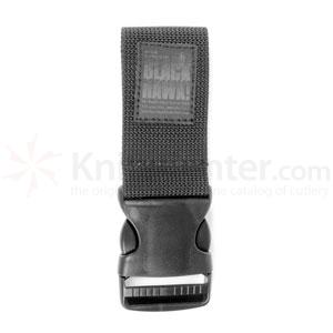 Blackhawk Dropleg Extender w/2 in. Quick release, Black