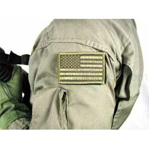 Blackhawk Patch, American Flag, Subdued w/Velcro