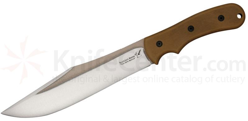 Blackjack Tac Ops 8 Ranger Fixed 8-1/2 inch 1095 Blade, Coyote Brown Micarta Handle, Kydex Sheath