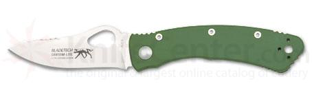 Blade Tech Ganyana Lite Folding Knife 3-7/8 inch Blade, Green Handles