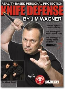 BokerPlus Reality-Based Blade Knife Defense DVD Video by Jim Wagner