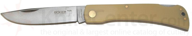 Boker Plus Sodbuster Lockback Folder 3-1/2 inch Blade, Poly Handle