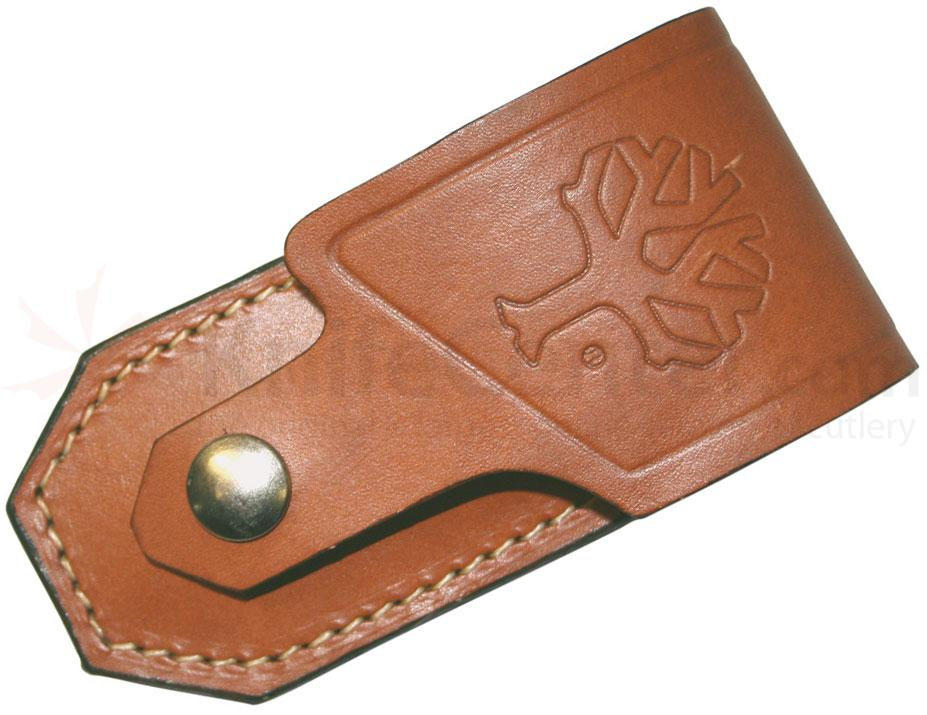 Boker 090033 Leather Belt Sheath Fits 112002 Pocket Knife Series (090033)