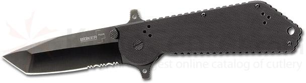 BokerPlus Armed Forces Series Folder II with 3-3/4 inch Combo Blade