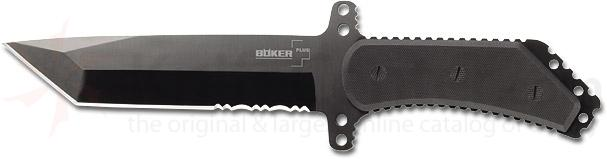 Boker Plus Armed Forces Tactical Fixed 7-1/3 inch Tanto Blade, G10 Handles (02BO216)