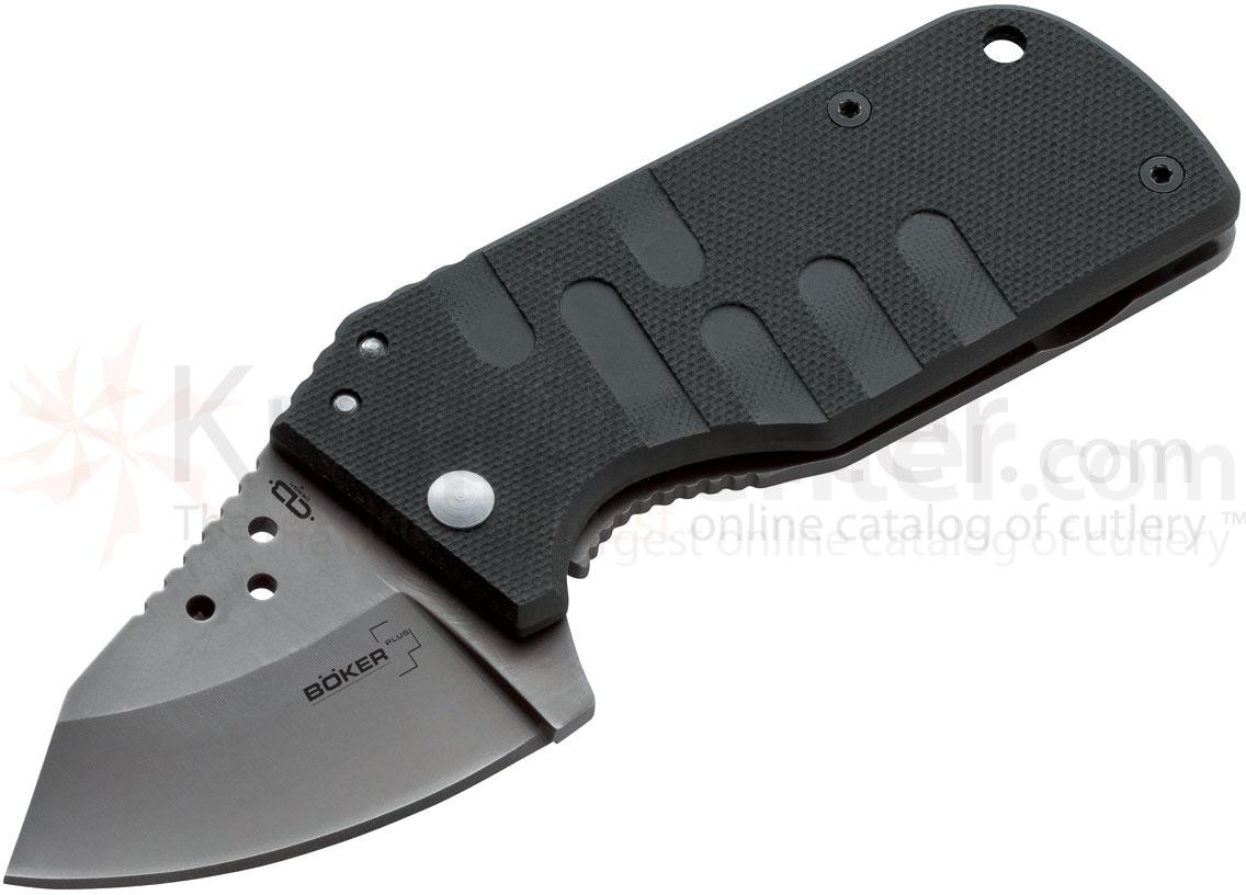 Boker Plus Chad Los Banos JC1 Folding Knife 2 inch Blade, G10 Handles