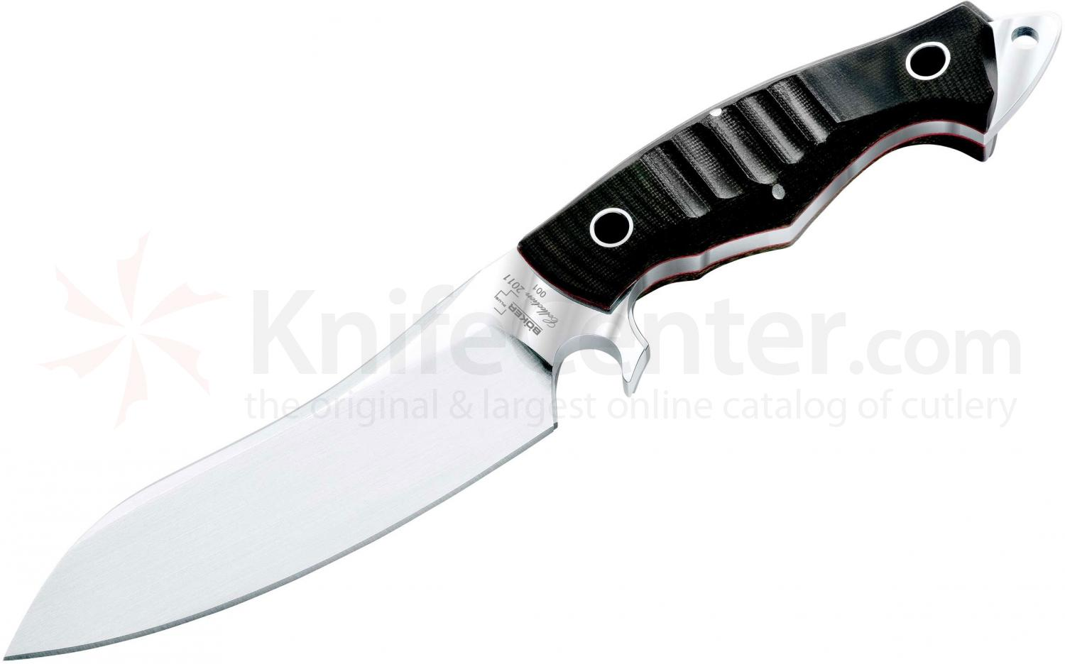 Boker Plus Collection 2011 Fixed 6 inch Blade, Micarta Handles (02BO2011)
