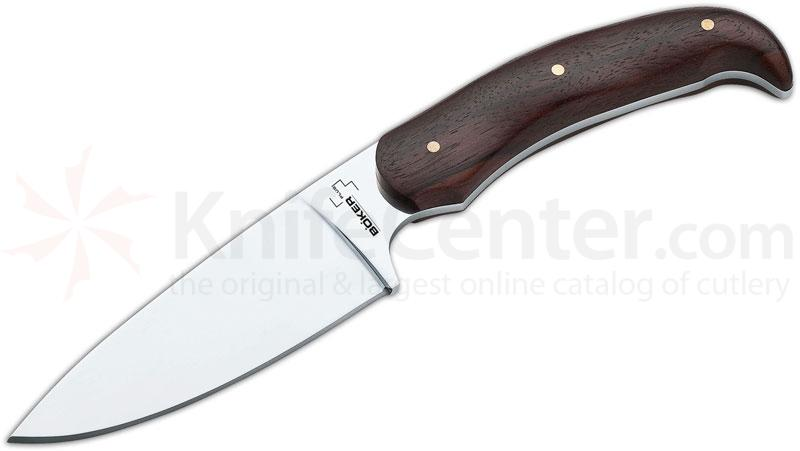 Boker Plus TUF Urban Fixed 4-3/4 inch Blade, Cocobolo Wood Handles