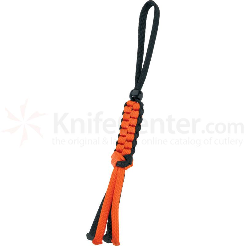 Boker Wilson Tactical Lanyard, Orange/Black, Bead (09WT006)