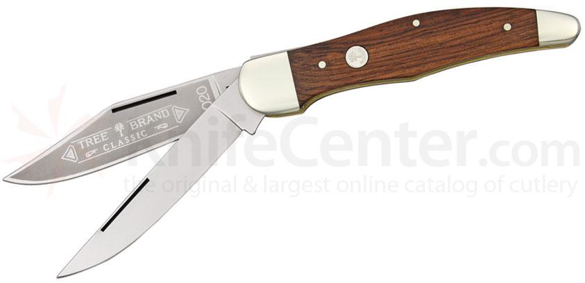 Boker Folding Hunter Roseood Handle 5-1/4 inch Closed (112020)