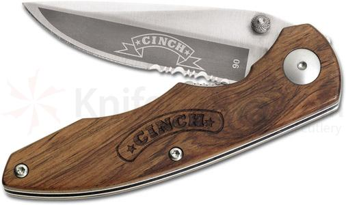 Boker Cinch Knives Executive Roper 4-3/4 inch Closed w/Rosewood Handle