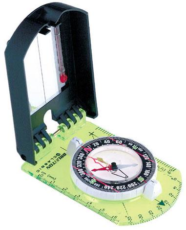 Brunton Compass, Mirrored Sighting, Clinometer, Thermometer