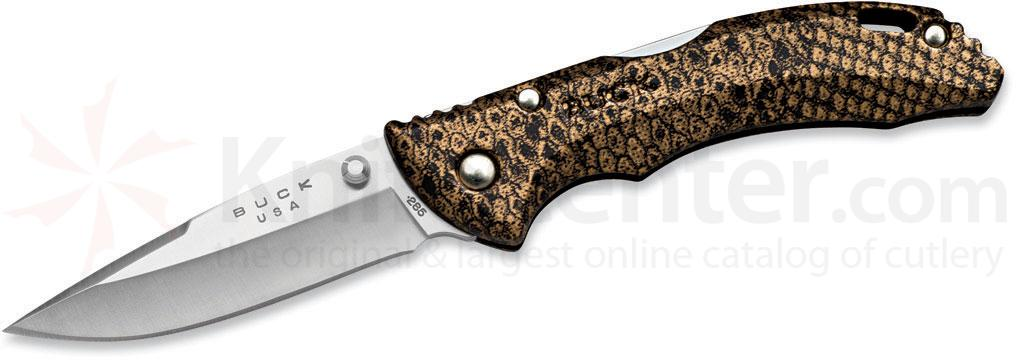 Buck 285 Bantam BLW Folding Knife 3-1/8 inch Blade, Copperhead Handles