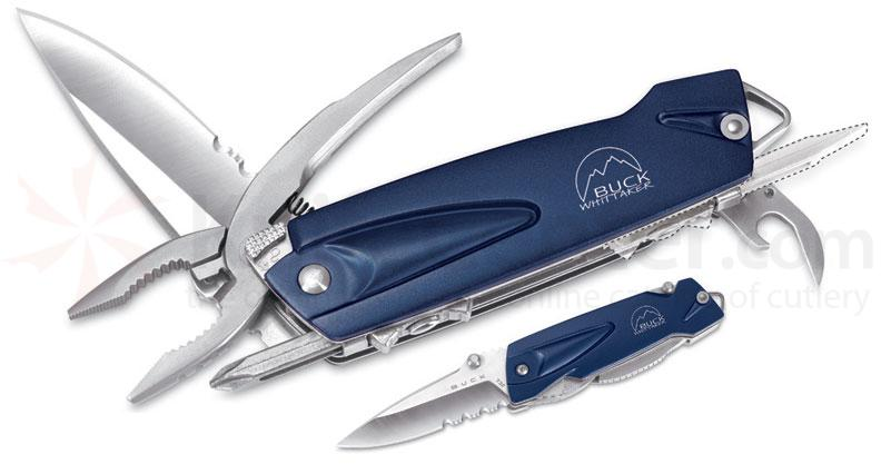 Buck X-Tract Mini Multi-Tool 3 inch Blue Handle, Nylon Sheath