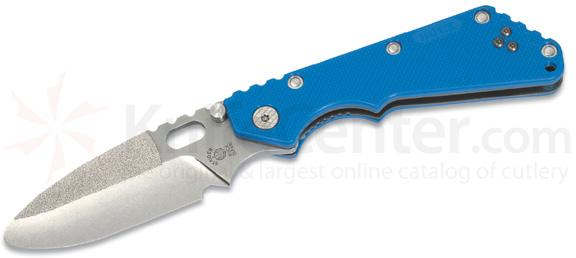 Strider Buck Tarani Trainer Folding Spear Point ATS-34 Police Issue