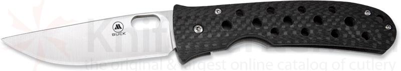 Buck Mayo/TNT Carbon Fiber Handle Limited Edition 3-1/8 inch S30V Blade Gift Box