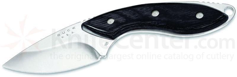 Buck Mini Alpha Hunter 2-1/2 inch Fixed Blade, Dymondwood Overlays