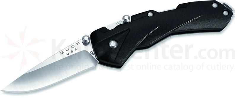 Buck QuickFire Assisted Opening 2-3/4 inch Blade, Black Handles