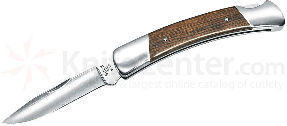 Buck 501 Squire Folding Knife 2-3/4 inch Satin Blade, Rosewood Dymondwood Handles
