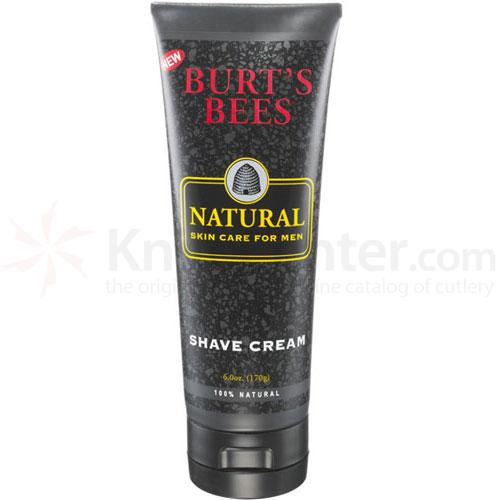 Burt's Bees Natural Skin Care for Men Shave Cream 6 oz. Tube