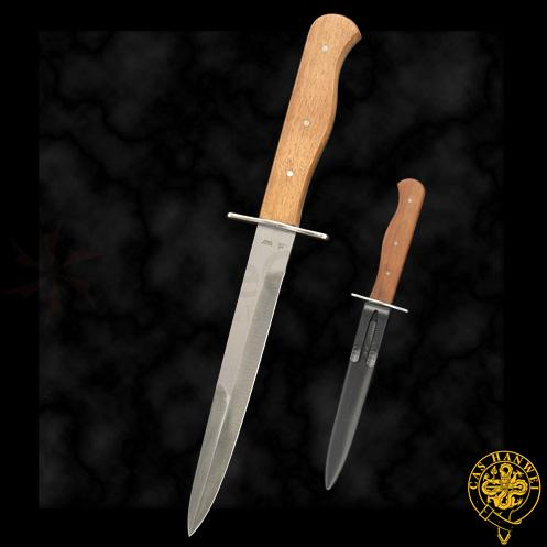 Trench Knife (Long Guard) Authentically Detailed Fully Functional