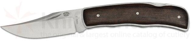Rock Creek Knives Glacier Folder 3-1/4 inch Blade, Rosewood Handles