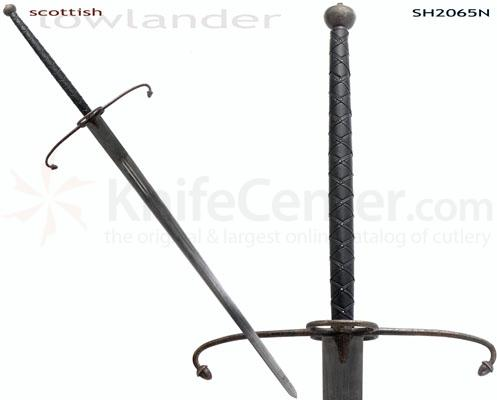 CAS Hanwei SH2065N Scottish Lowlander Two-Handed Great Sword (Antiqued) From Hanwei