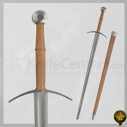 CAS Hanwei SH2428 Practical Bastard Sword 49.5 inch Overall, Re-enactment Version