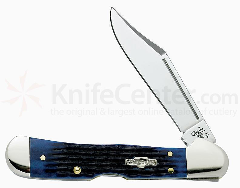 Case Blue Bone Mini CopperLock® 3-5/8 inch Closed (61749L SS)