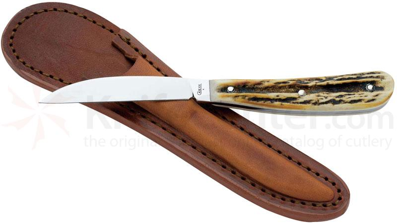 Case Desk Knife Burnt Stag Handles 6-1/8 inch Overall (517-3 154-CM)
